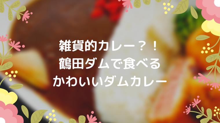 鶴田ダムカレー